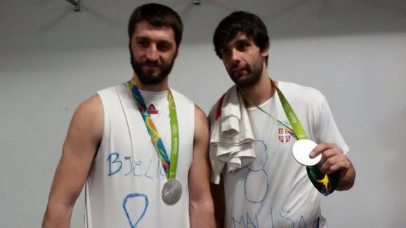 Stefan Marković i Miloš Teodosić