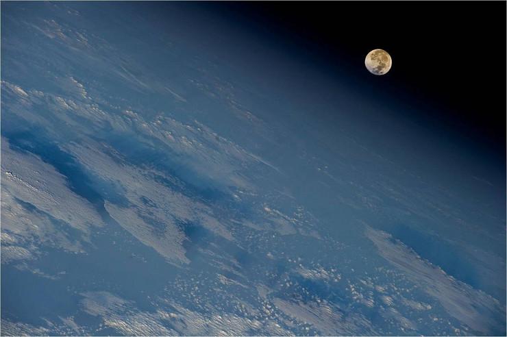 Jedna od neverovatnih fotografija koje je Garan napravio u svemiru