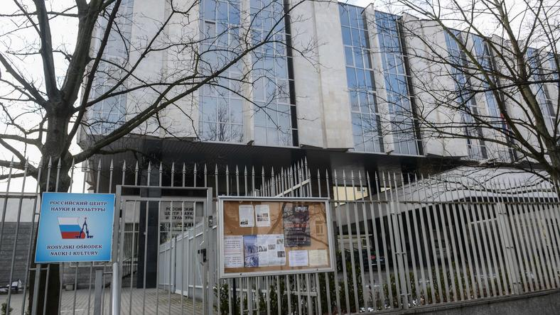 Budynek Rosyjskiego Ośrodka Nauki i Kultury wydziału Konsularnego w Warszawie