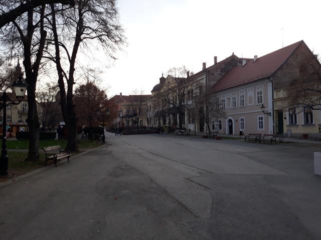 Pusto u centru Sremskih Karlovaca