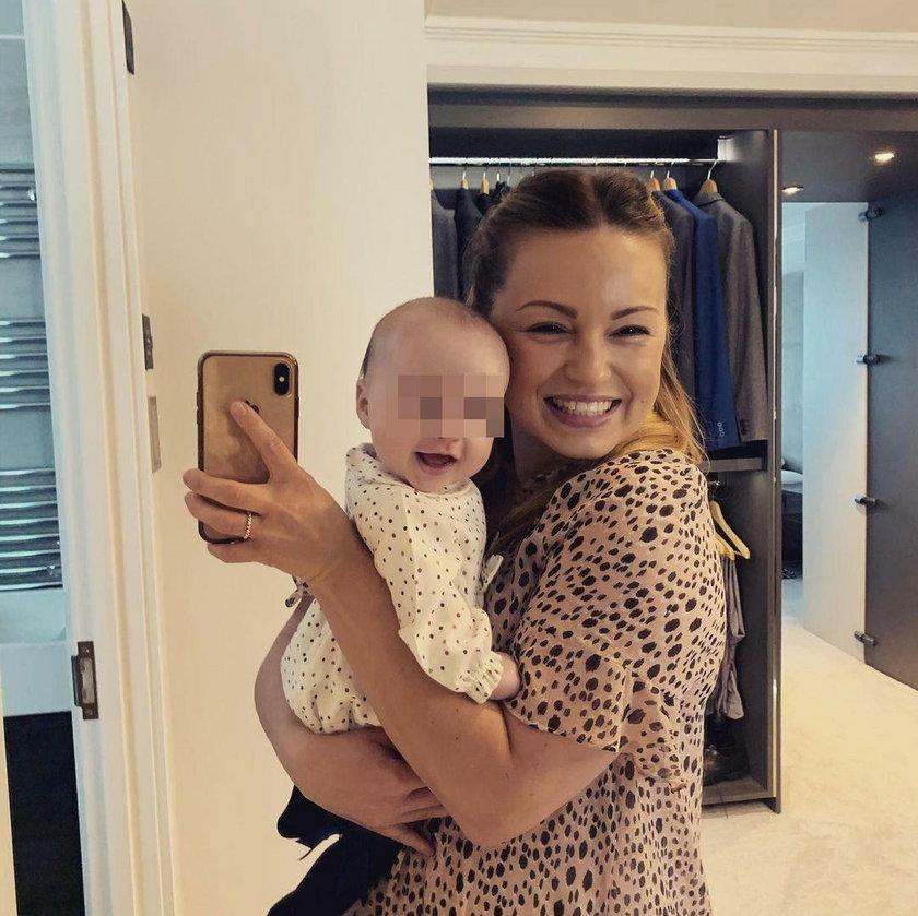 Ola Jordan z córką