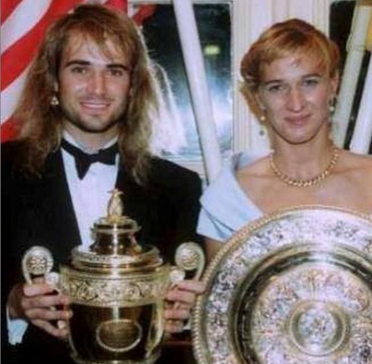 Andre Agasi i Štefi Graf