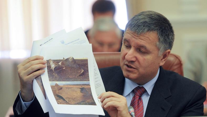 Rosja chce ścigać szefa ukraińskiego MSW Arsena Awakowa