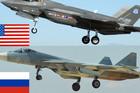 """SUDAR NA NEBU Ponos američke avijacije i ruska """"munja"""" OČI U OČI: Ko je jači? (VIDEO)"""
