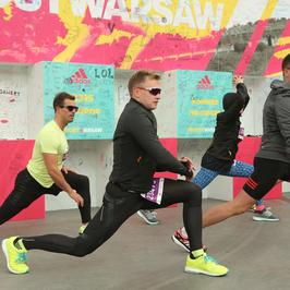 Znani pobiegli w 37. PZU Maratonie Warszawskim