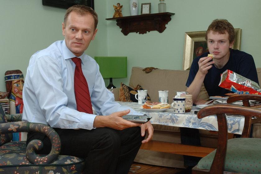Były premier z synem