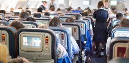 Przerwali lot przez agresywną kobietę. To nie wszystko