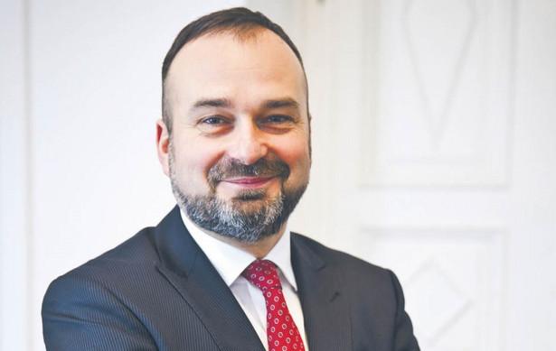 Prof. Maciej Gutowski, dziekan Izby Adwokackiej w Poznaniu, kandydat na prezesa NRA. Fot. Wojtek Górski