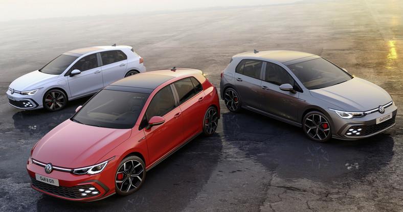 Volkswagen Golf GTE, Golf GTI i Golf GTD