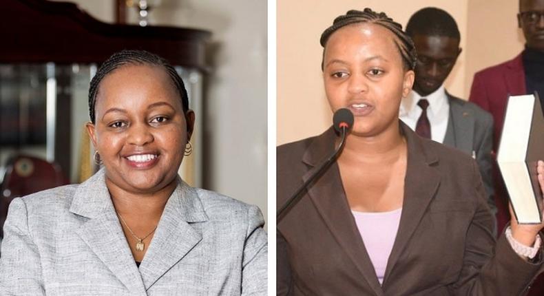 Is she you daughter? Waiguru pressured to explain relation with new UNSA Chair Anne Mwangi Mvurya