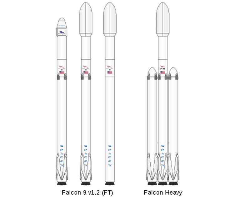 Falcon 9 i Falcon Heavy