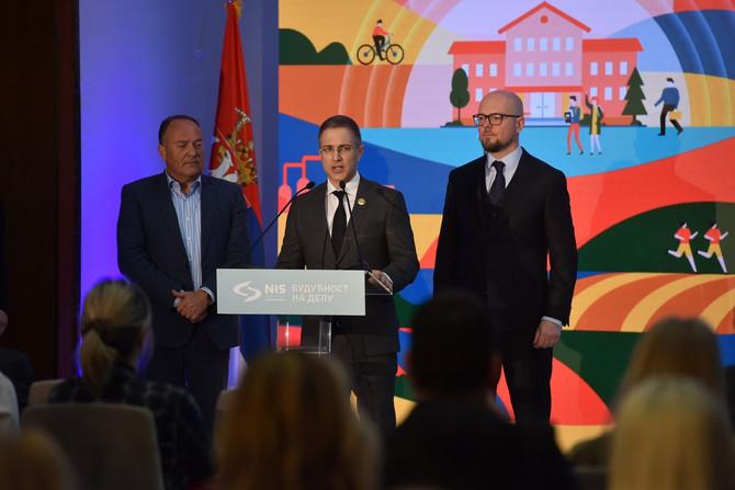 Ministar Stefanović foto: ustupljena fotografija, Nikola Tomić, NIS