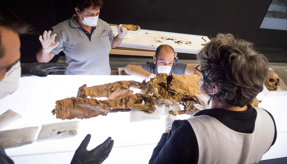 SPAIN-ARCHAEOLOGY-MUSEUM-MUMMIES