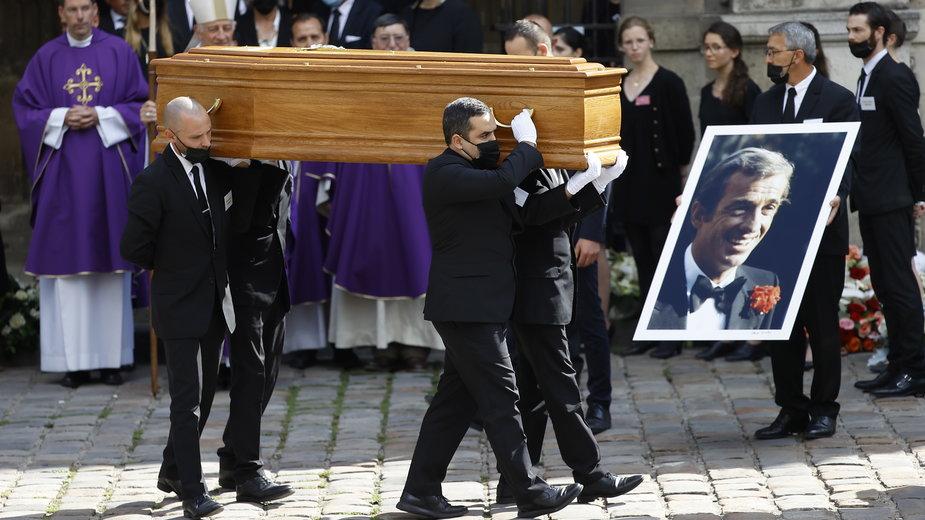 Pogrzeb Jean-Paula Belmondo w Paryżu