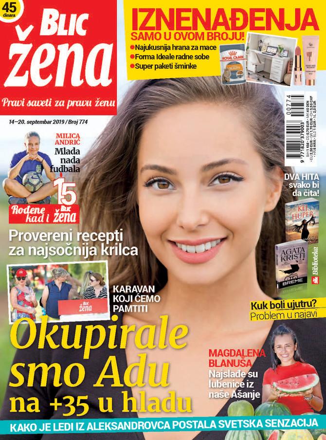 """Nova """"Blic žena"""" na kioske stiže u subotu 14. septembra"""