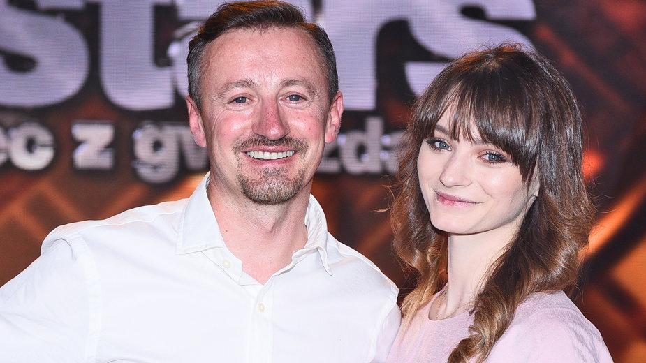 Karolina Małysz i Adam Małysz