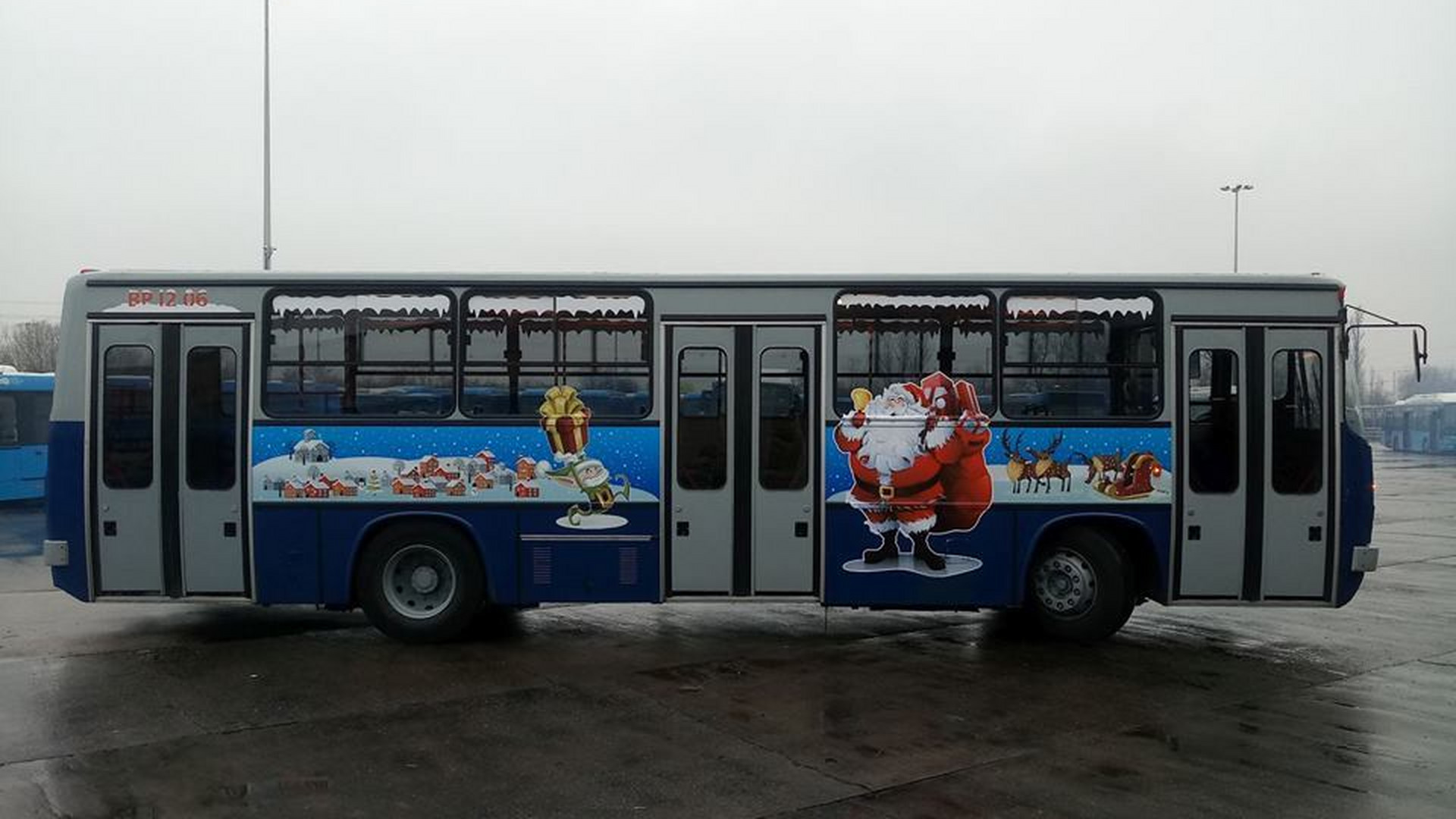 bcbb685536 Holnap indul útjára a karácsonyi BKV busz - Noizz