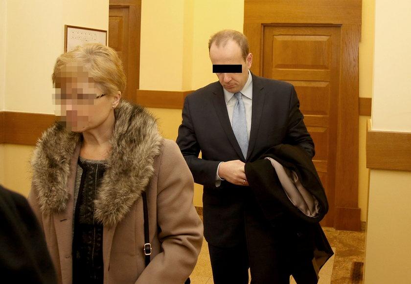 Burmistrz w sądzie w Myślenicach
