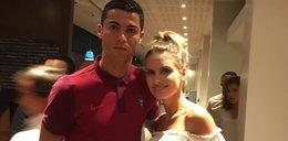 """Żona """"Grosika"""" też ma fotkę z Ronaldo"""