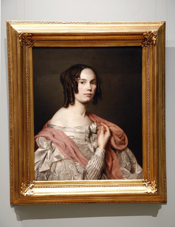 Katarina Ivanović, Autoportret, 1836.