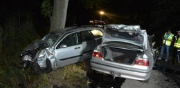 Dwie osoby ranne w wypadku