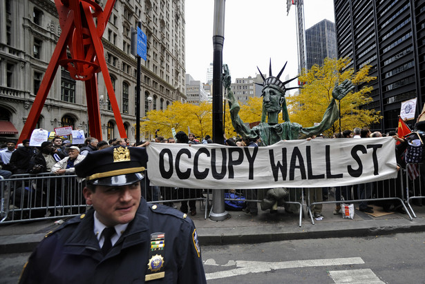 "Protesty ""occupy Wall Street"""