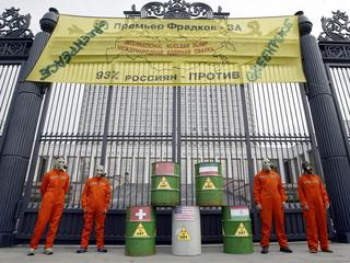 RUSSIA-GREENPEACE-PROTEST