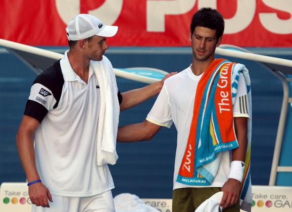 Novak Đoković i Endi Rodik