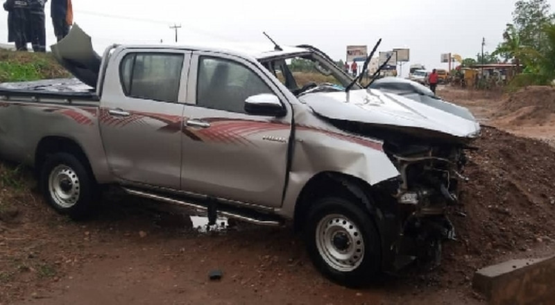 NPP parliamentary aspirant involved in an accident