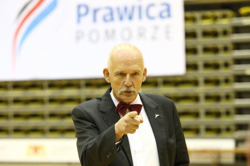 Janusz Korwin-Mikke zakłada kolejną nową partię