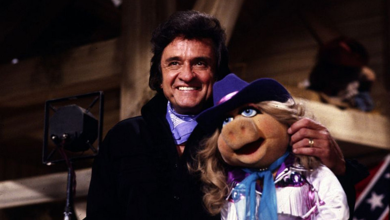Johnny Cash w Muppet Show
