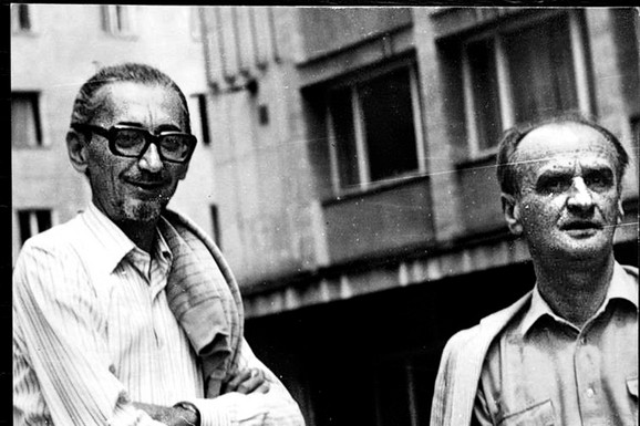 Borislav Pekić i Borislav Mihajlović Mihiz