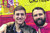 Oduševljeni: Radiša Bošković i Felipe Marti
