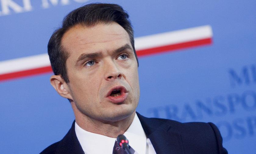 Sławomir Nowak minister infrastruktury