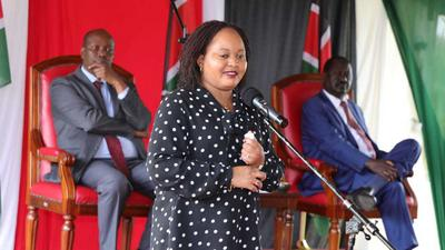 They wanted this picture - Waiguru speaks after grilling by EACC