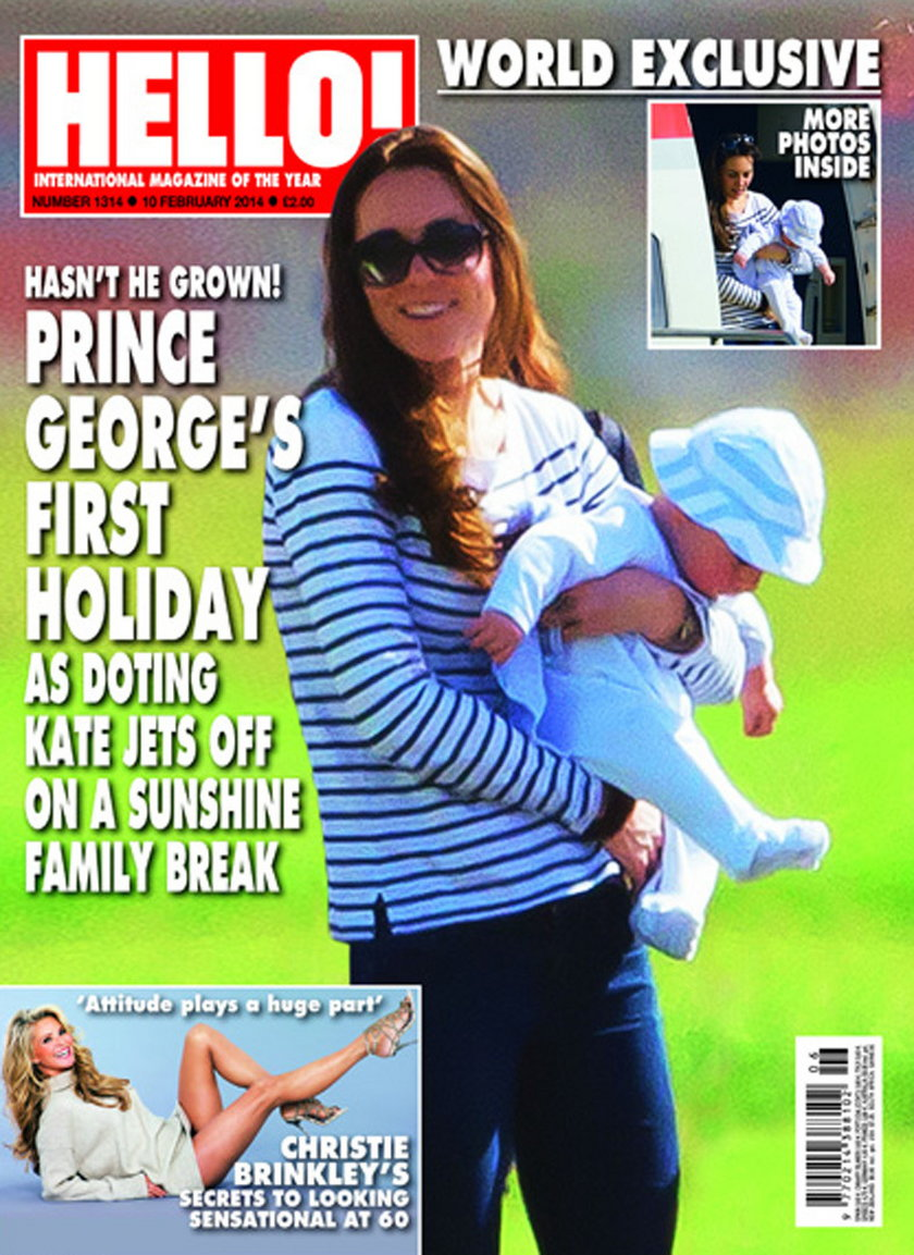"Księżna Kate na okładce ""Hello"""