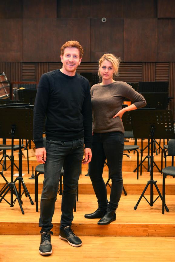 Tamara Krcunović i Vlada Aleksić