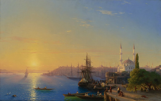 Istanbul u otomansko doba na slici ruskog slikara Ivana Ajvazovskog