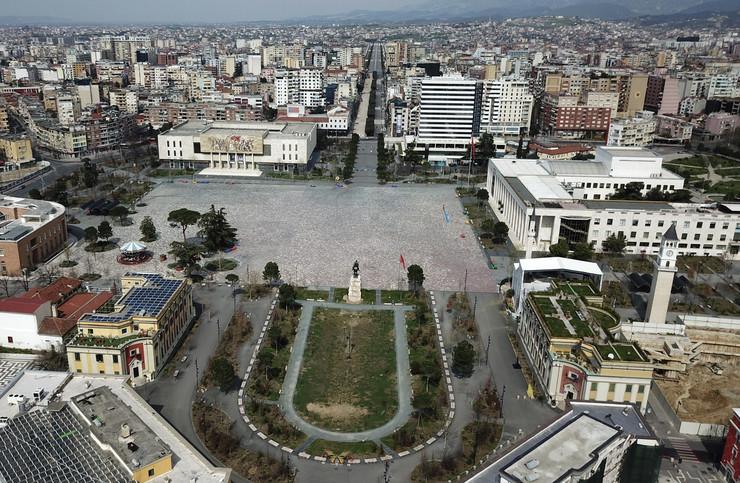 Albanija korona nova