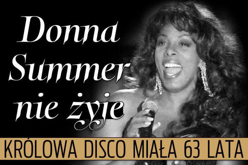 Donna Summer nie żyje