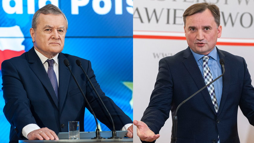 Piotr Gliński i Zbigniew Ziobro