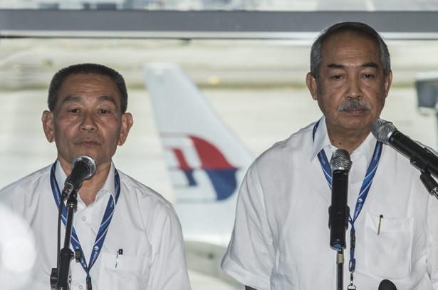 Szefowie linii Malaysia Airlines. Fot. EPA/AHMAD YUSNI/PAP/EPA