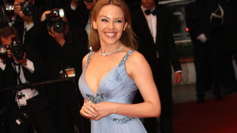 Kylie Minogue na festiwalu w Cannes