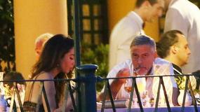 George Clooney z żoną na romantycznej kolacji