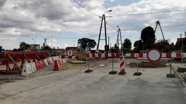 16 sierpnia drogowcy zamknęli ulicę Nowiny od strony Starogardzkiej