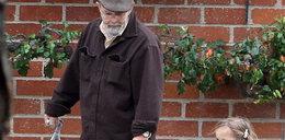Córka Afflecka spędza czas z dziadkiem