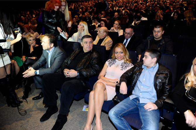 Porodično na koncertu Ane Bekute 2014. u Beogradu