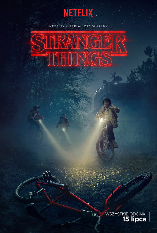 """Stranger Things"" - plakat"