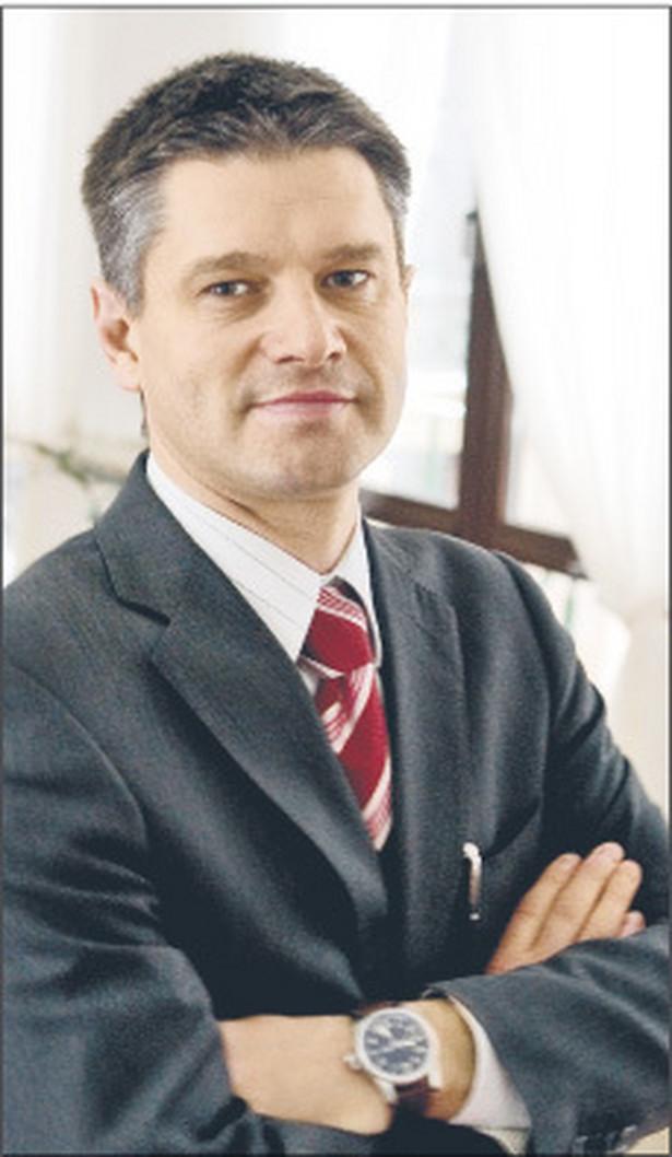 Jacek Kapica, wiceminister finansów Fot. Wojciech Górski