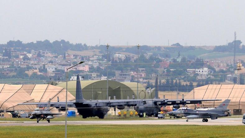 Baza wojskowa Incirlik w południowej Turcji
